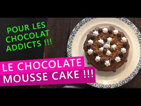 recette-:-chocolate-mousse-cake-aux-griottes---gâteau-au-chocolat