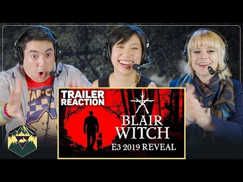 Blair Witch - Official Reveal Trailer Reaction | E3 2019