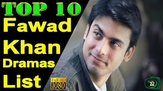 Video Top 10 Fawad Khan Drama Serials List download MP3, 3GP, MP4, WEBM, AVI, FLV September 2017