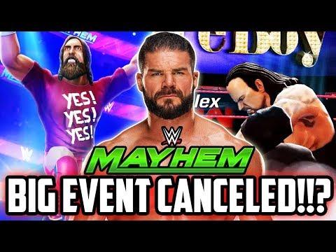 WWE MAYHEM NEW SPECIAL EVENT TRAILER! SURPRISE CHANGE & 2X REWARDS!!!