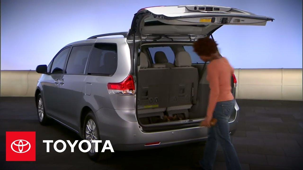 2011 - 2012 Sienna How-To: Power Rear Door | Toyota