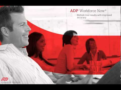 ADP Workforce Now® Introduction