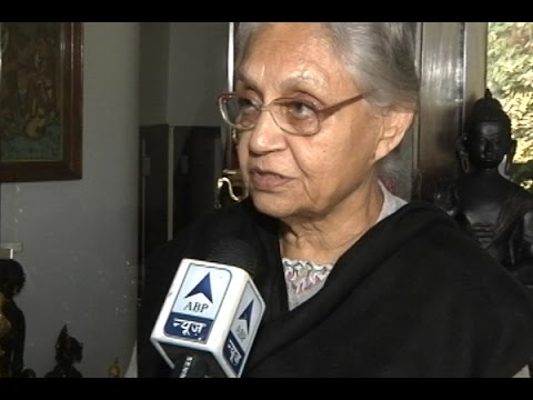 Now dates are announced can schedule programs better: Sheila Dikshit, Cong CM candidate