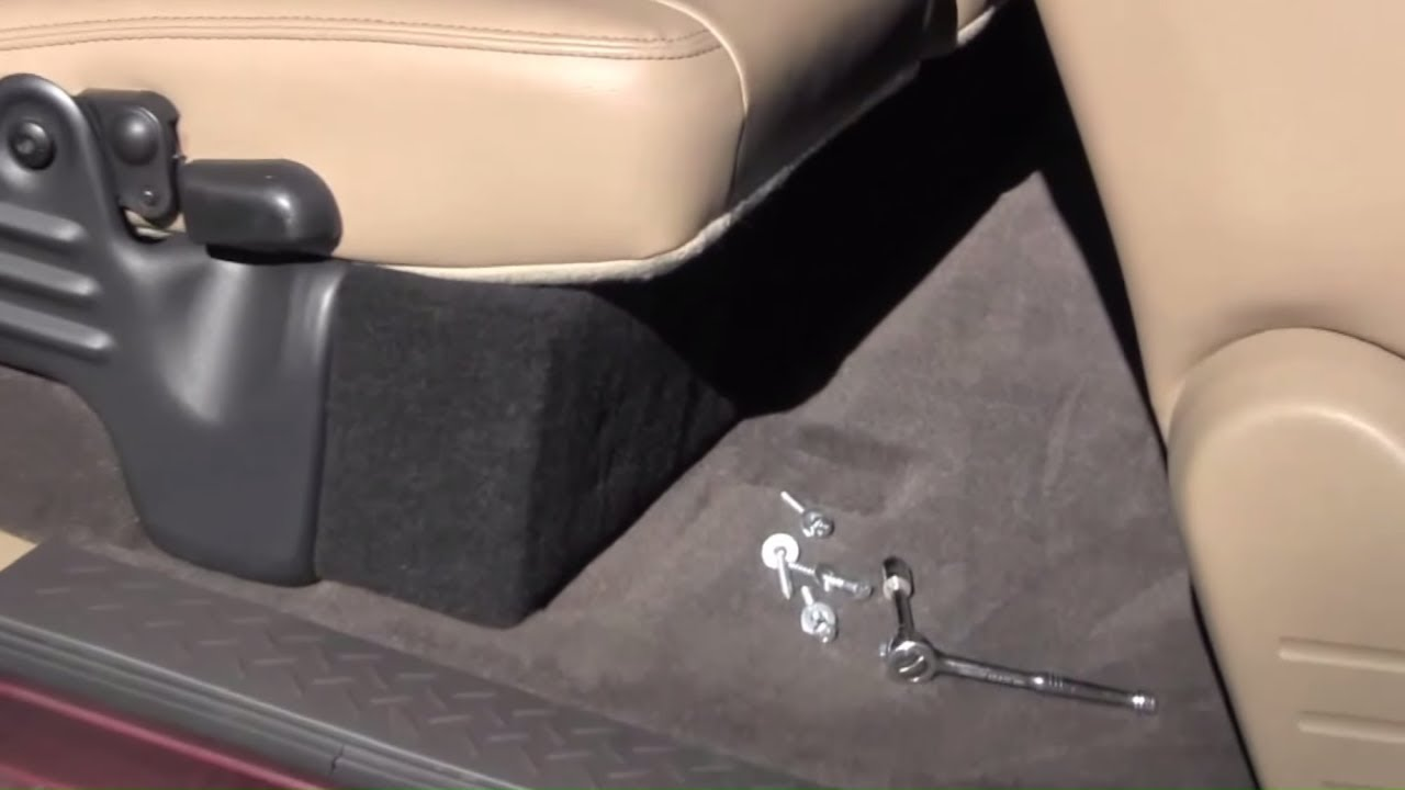 How to build a hidden compartment in your truck - YouTube