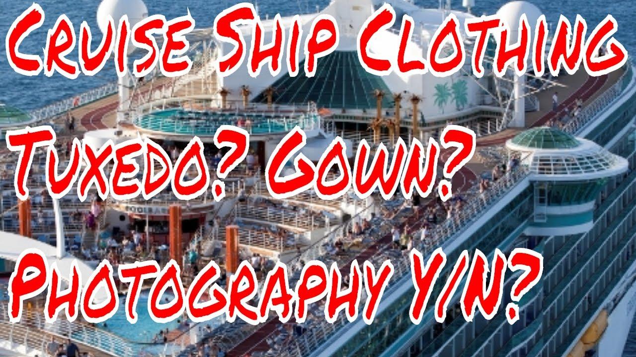 Cruise Ship Clothing Tuxedo Gown Carnival Triumph