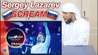 ARAB REACTION TO EUROVISION 2019 (Sergey Lazarev - Scream) **RUSSIAN REACTION**