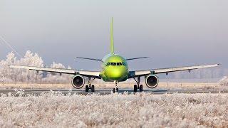 S7 A319 , UUEE-ULLI, Microsoft Flight Simulator & Prepar3D , FSX 2015