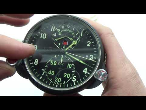 5623d3ad876 AChS 1 Russian Soviet USSR Military AirForce Aircraft Cockpit Clock  67275