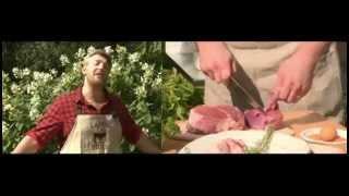Бифштекс с томленым картофелем. Кухня на свежем воздухе 11