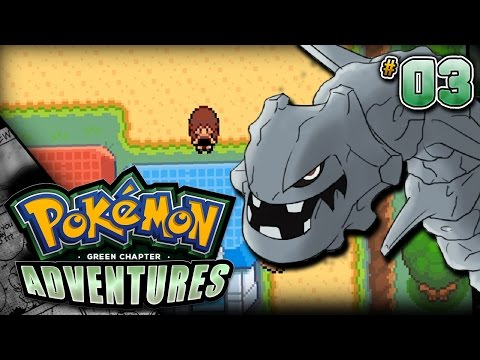 Pokémon Adventures: Green Chapter ROM HACK Gameplay Walkthrough - Episode 3