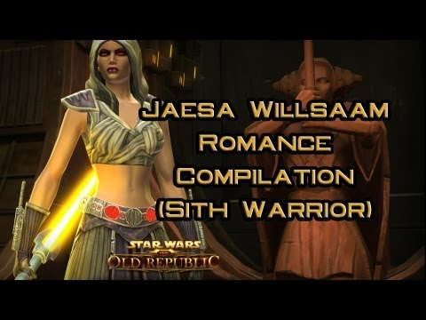 SWTOR: Jaesa Willsaam Romance Compilation (Sith Warrior)