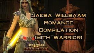 SWTOR: Jaesa Willsaam Romance Compilation (Sith Warrior)