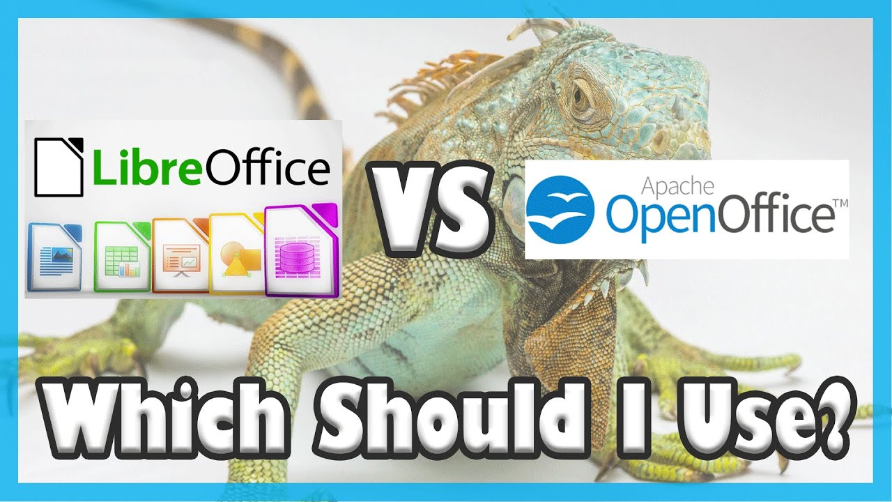 Libreoffice vs apache openoffice best free office suite comparison youtube - Openoffice or libre office ...