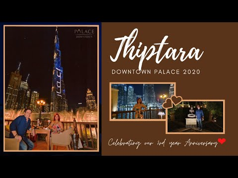 Thiptara Downtown Palace | Anniversary celebration 2020