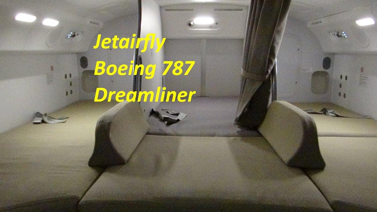 Jetairfly 787 Dreamliner outside & cabin tour - YouTube