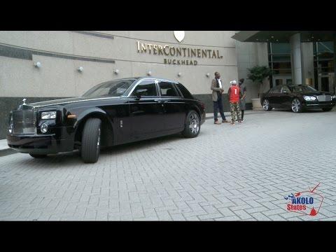 USA- ATLANTA: Fally Ipupa reçu par R.Kelly et Mutombo Dikembe