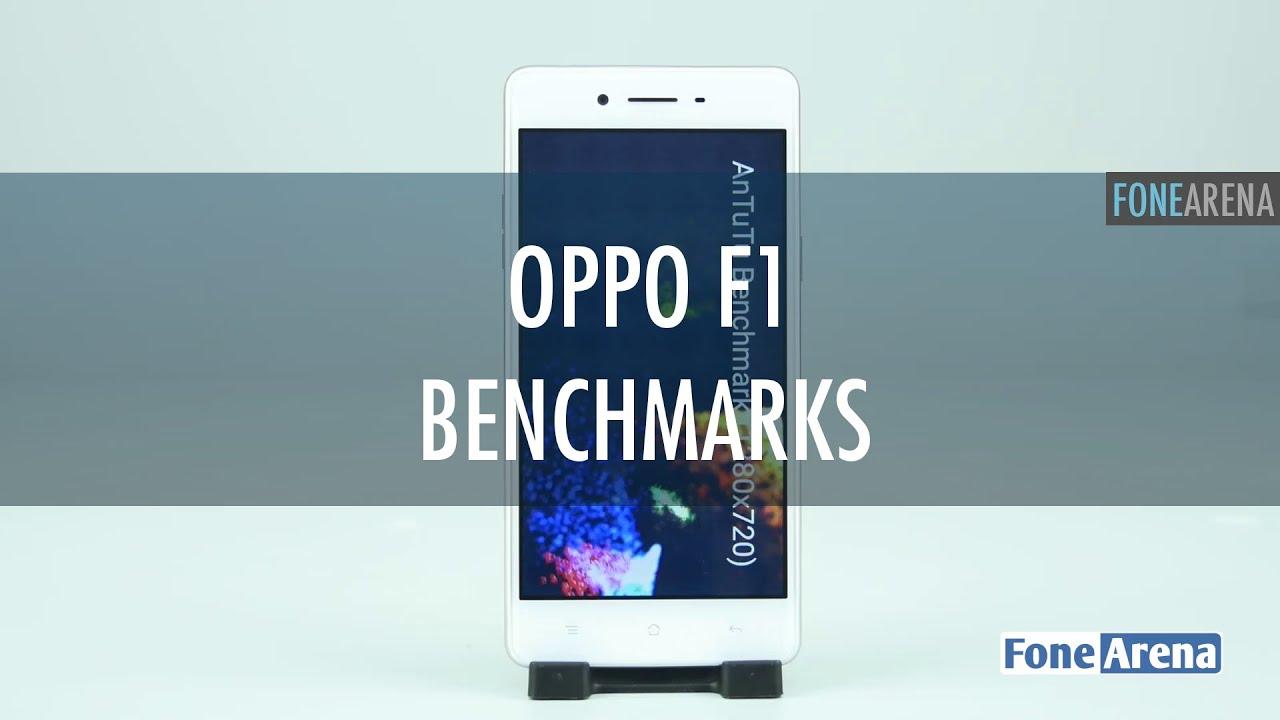 OPPO F1 Benchmarks