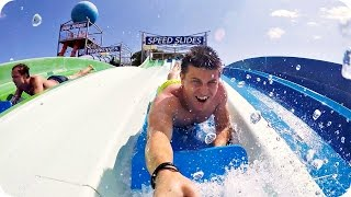 VLOG: АКВАПАРК  WATER WORLD! 13.07.16