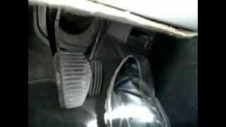 Pédale d'accélérateur,  Regulateur vitesse 406