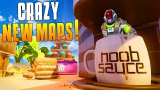 CRAZY NEW MAPS! (BO3 Outlaw, Micro, Rupture & Citadel Gameplay!) STANDOFF IS BACK! - MatMicMar