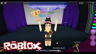 ROBLOX - I GO TO A BAILE CONTEST - DANCE YOUR BLOX OFF