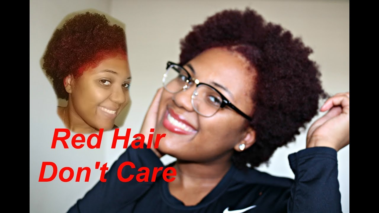 I M A Red Head Dark And Lovely Go Intense Box Dye Review