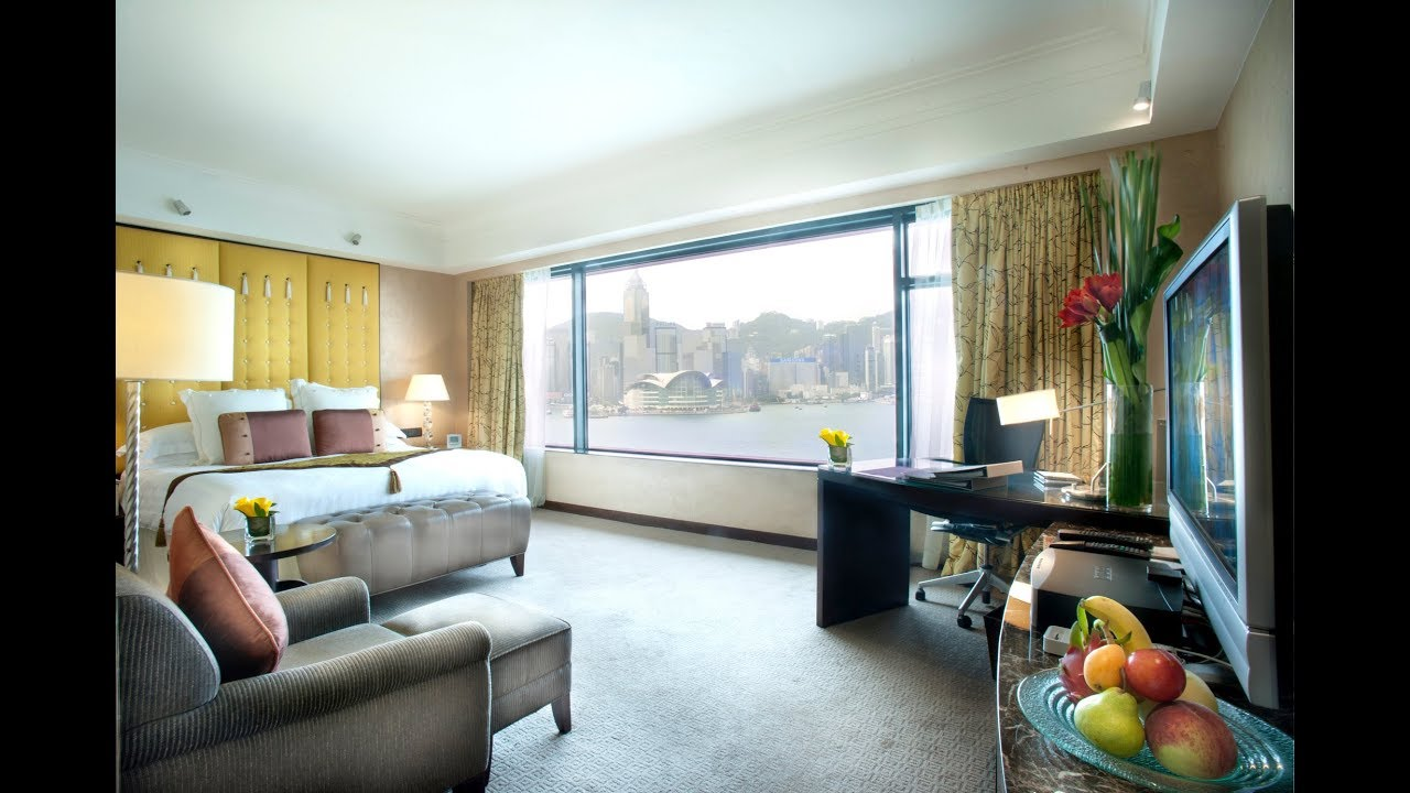 Intercontinental Hong Kong Deluxe Harbour View Room Youtube