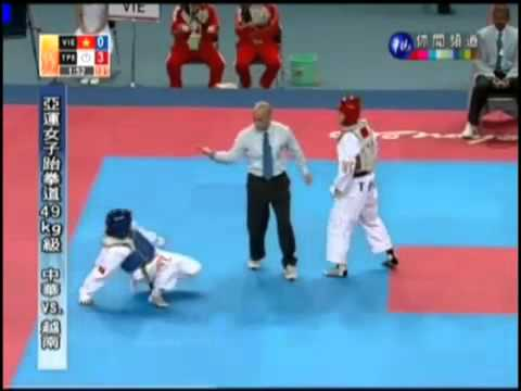 Taiwanese taekwondo athlete Yang Shu-Chun did NOT cheat !!