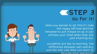 5 steps to successful potty training - Dry Like Me - www.drylikeme.com
