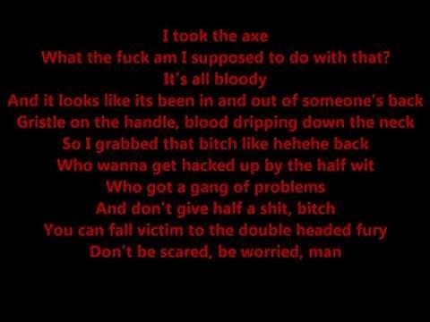 Dark Lotus - Pass The Axe - Lyrics (Psychopathic Kid)