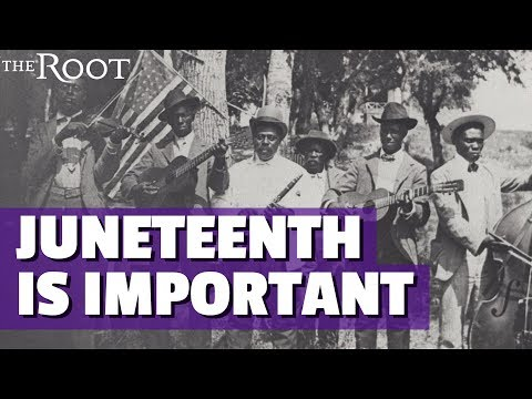 Video image: What is Juneteenth, and why is it so important?
