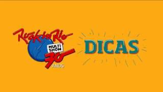 DICAS ROCK IN RIO ASSIM SAUDE O QUE LEVAR audio V4