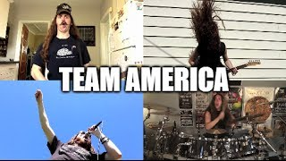 Team America song! (one-man full band cover)