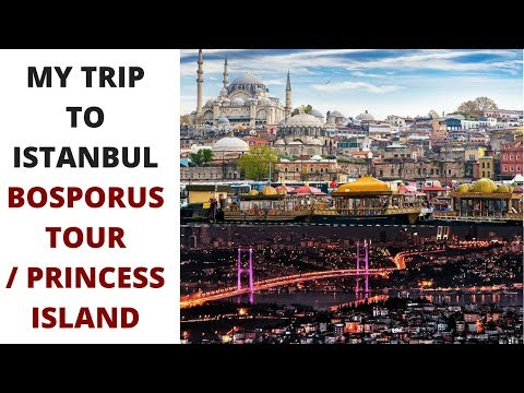 My Trip to Istanbul Turkey | Bosphorus Tour | Grand Bazaar | Princess Island | Complete Journey