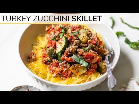 turkey-zucchini-skillet-|-easy,-low-carb-dinner-idea