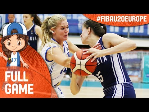 Iceland v Slovak Republic - Full Game - FIBA U20 Women's European Championship 2017 - DIV B