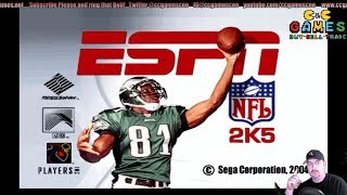 ESPN NFL 2K5 with updated rosters. Because Madden is lame.