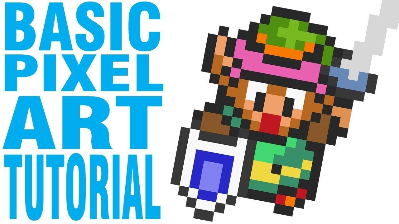 Pixel Art 7 Pixel Art De Types Jeux Video Et Manga Youtube