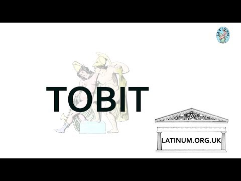 The Story of Tobit read aloud in Classical Pronunciation Latin Audio by Molendinarius