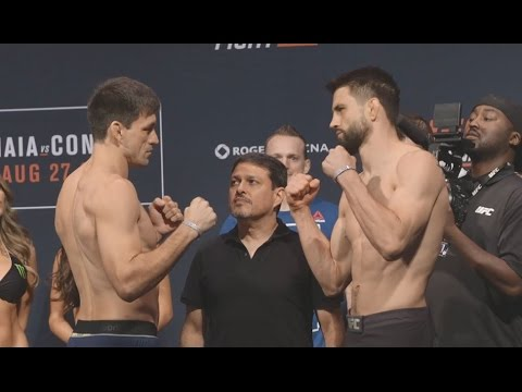 Fight Night Vancouver: Weigh-In Recap