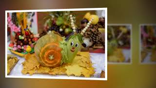 Autumn composition!Compozitie de toamna!Expozitii la gradinita!