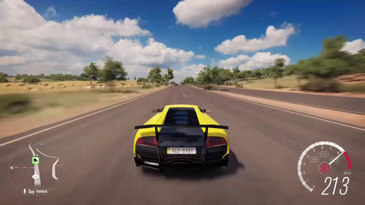 Forza Horizon 3 Lamborghini Murcielago Sv Top Speed Youtube