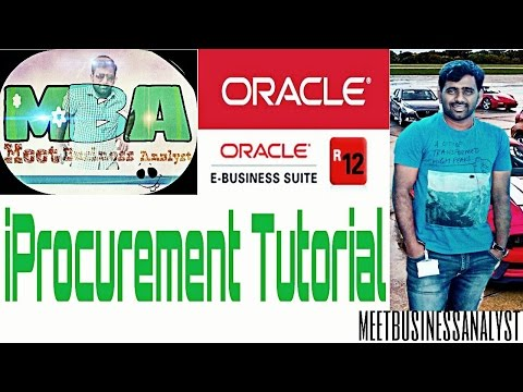Iprocurement setups and transactions along with approval hierarchy