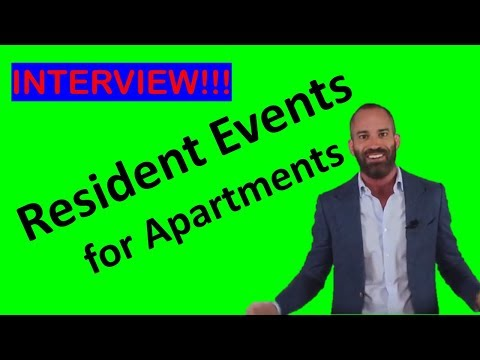 Resident Events for Apartments