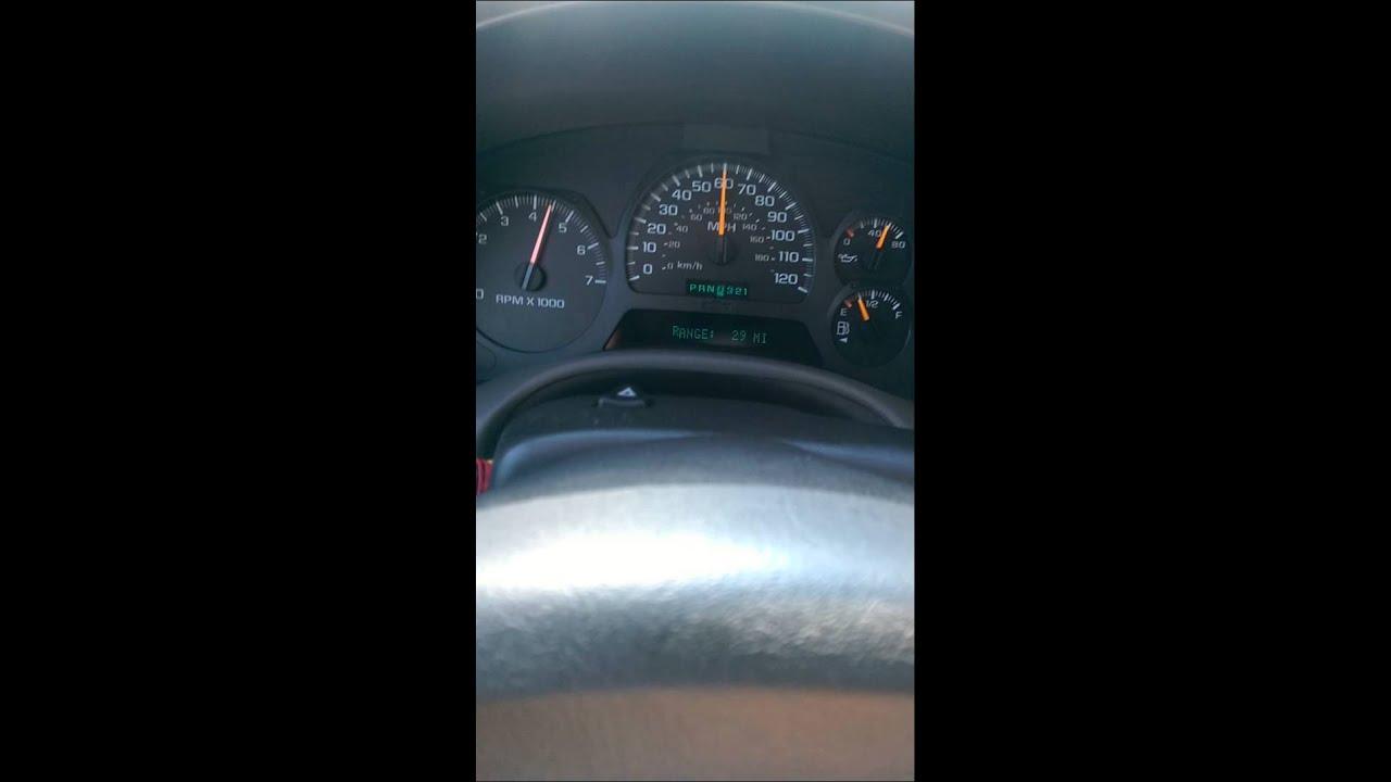 2002 Chevy Trailblazer 42 L6 Acceleration Youtube