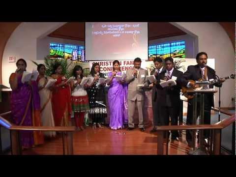 Telugu Christian Songs - 'Athyunnatha Simhaasanamupai ' - UTCFVA.ORG - UECF.NET