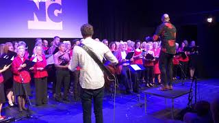 Space Oddity  - Sing Choir at The Burrell Theatre July 2018