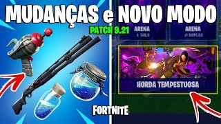 FORTNITE-BUFFADOS ITEMS, LAUNCHES PROXIMITY GRENADES and NEWS from PATCH 9.21