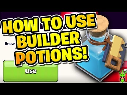 HOW TO USE BUILDER POTIONS WITH GREAT RESULTS! - How To Clash Ep.9 -