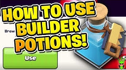 "HOW TO USE BUILDER POTIONS WITH GREAT RESULTS! - How to Clash Ep.9 - ""Clash of Clans"""